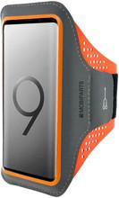 Mobiparts Comfort Fit Sportarmband Samsung Galaxy S9 Oranje