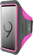 Mobiparts Comfort Fit Sportarmband Samsung Galaxy S9 Roze