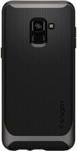 Spigen Neo Hybrid Galaxy A8 (2018) Back Cover Grijs