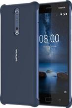 Nokia 8 Back Cover Blauw