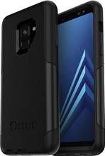 Otterbox Commuter Samsung Galaxy A8 (2018) Back Cover Zwart