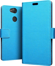 Just in Case Wallet Sony Xperia XA2 Book Case Blauw