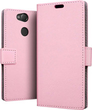 Just in Case Wallet Sony Xperia L2 Book Case Roze