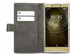 Mobilize Classic Gelly Wallet Sony Xperia L2 Book Case Zwart