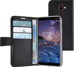 Azuri Wallet Magneet Nokia 7 Plus Book Case Zwart