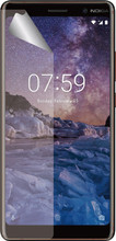 Azuri Nokia 7 Plus Screenprotector Plastic Duo Pack