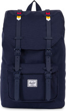 Herschel Little America Mid-Volume Peacoat Rainbow