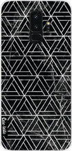 Casetastic Softcover S9 Plus Abstract Marble Triangles