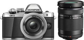 Olympus E-M10 MII Body Zilver + 14-42mm  + 40-150mm Zwart