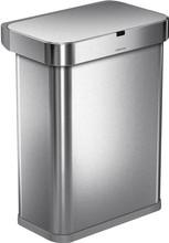 Simplehuman Afvalemmer Rectangular 38 Liter Mat Rvs.Simplehuman Prullenbak Kopen Coolblue Voor 23 59u Morgen In Huis