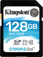 Kingston SDXC Canvas Go! 128GB 90 MB/s