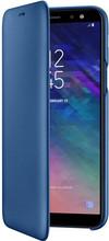 Samsung Galaxy A6 (2018) Wallet Cover Book Case Blauw
