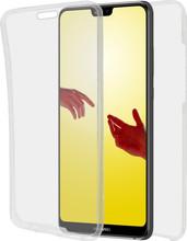 Azuri TPU Ultra Thin Huawei P20 Lite Full Body Transparant