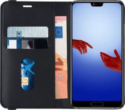 Azuri Luxe 2-in-1 Wallet Huawei P20 Book Case Zwart