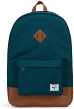 Herschel Heritage Deep Teal/Tan Synthetic Leather