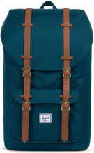 Herschel Little America Deep Teal/Tan Synthetic Leather