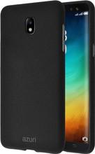 Azuri Flexible Sand Galaxy J6 (2018) Back Cover Zwart