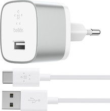 Belkin USB-C Thuislader Quick Charge 3.0 Wit