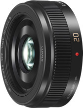 Panasonic Lumix G 20mm f/1.7 II zwart