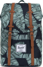 Herschel Retreat Black Palm