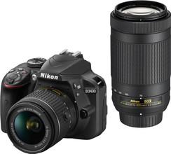 Nikon D3400 AF-P 18-55mm + AF-P 70-300mm