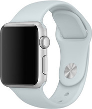 Apple Watch 38mm Siliconen Horlogeband Sport Nevelblauw