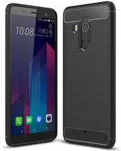 Just in Case Rugged TPU HTC U11 Plus Back Cover Zwart