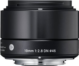 Sigma 19mm f/2.8 DN ART Sony E-mount Black