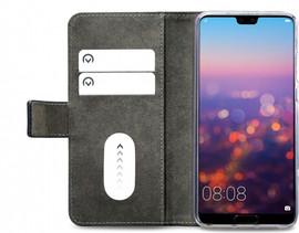 Mobilize Classic Gelly Wallet Huawei P20 Book Case Zwart