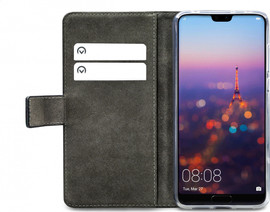 Mobilize Classic Gelly Wallet Huawei P20 Pro Book Case Zwart