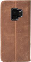 Krusell Sunne Galaxy S9 Book Case Bruin