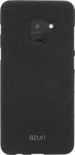 Azuri Flexible Sand Galaxy A8 (2018) Back Cover Zwart