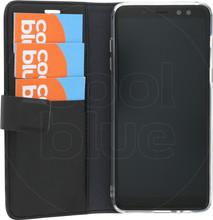 Azuri Wallet Magneet Galaxy A8 (2018) Book Case Zwart