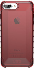UAG Plyo Crimson iPhone 6+/6s+/7+/8+ Back Cover Rood
