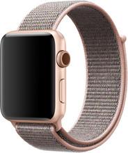 Apple Watch 38mm Nylon Sport Loop Horlogeband Rose Gold