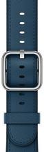 Apple Watch 42mm Klassiek Lederen Horlogeband Blauw