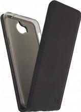 Mobilize Classic Gelly Huawei Y6 (2017) Flip Case Zwart