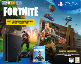 Sony PlayStation 4 Slim 500 GB + Fortnite bundel