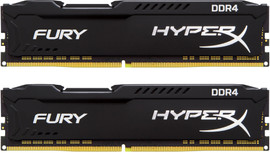 Kingston Hyper X FURY Black 8GB 2666MHz DDR4 DIMM 2 x 4