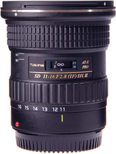 Tokina 11-16mm f/2.8 AT-X Pro DX II Canon