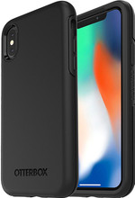 Otterbox Symmetry iPhone X Back Cover Zwart