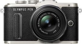 Olympus PEN E-PL8 + 14-42mm 1:3:5-5,6 EZ Zwart