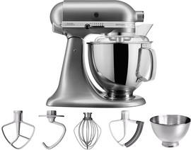 KitchenAid Artisan Mixer 5KSM175PS Contour Zilver