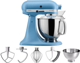 KitchenAid Artisan Mixer 5KSM175PS Vintage Blauw