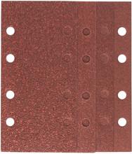 Bosch Schuurpapierset 93x185 mm K40, K60, K80, K120 (25x)