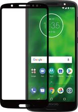 Azuri Moto G6 Screenprotector Gehard Glas Zwart