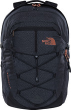 The North Face Women's Borealis TNF Black Heather/Burnt Cora