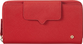 Samsonite Miss Journey SLG Wallet 18CC Scarlet Red
