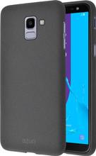 Azuri flexible sand Galaxy J6 (2018) Back Cover Grijs