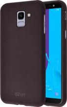 Azuri flexible sand Galaxy J6 (2018) Back Cover Bruin